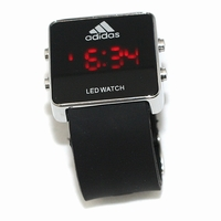 Часы Adidas led watch - черные
